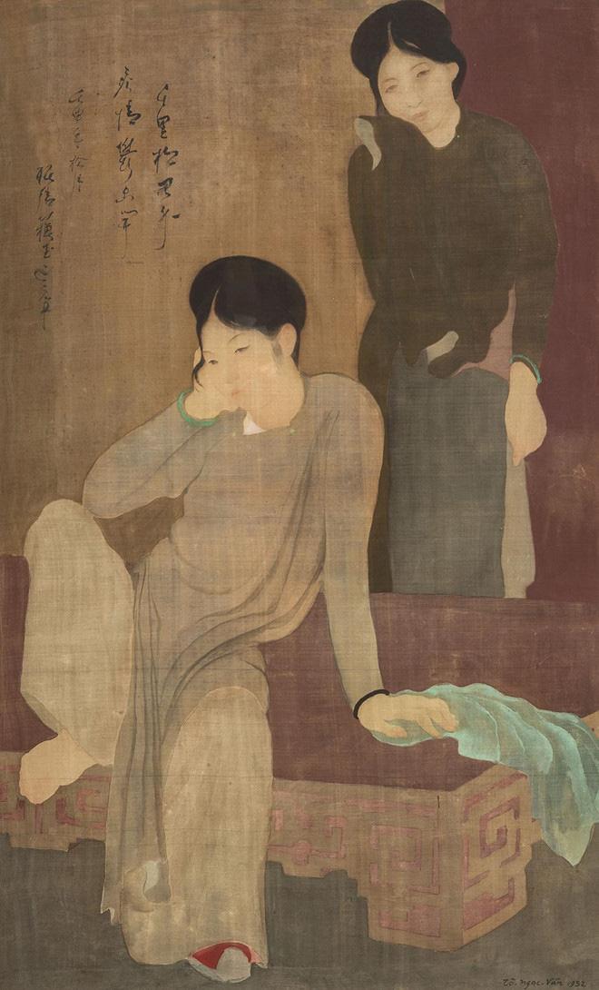 'Les Désabusées' (1932) by To Ngoc Van
