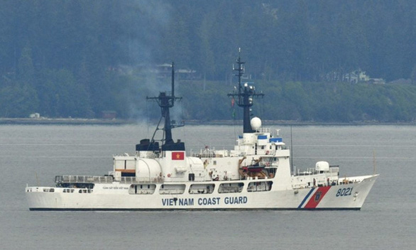 US delivers second coast guard ship to Vietnam