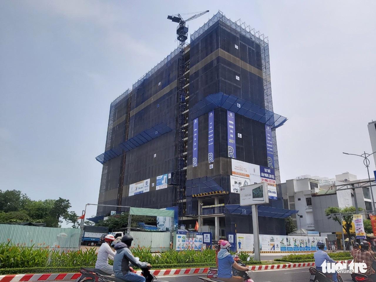Officetel developer in Da Nang fined over construction violations