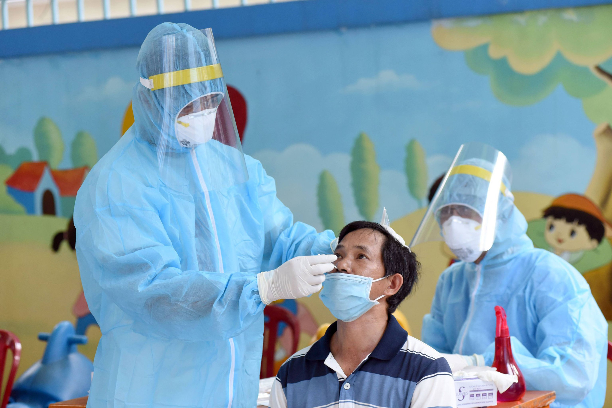 Three family members contract COVID-19 in Ho Chi Minh City