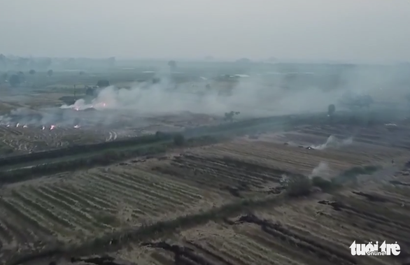 Vietnam ministry urges handling of straw burning