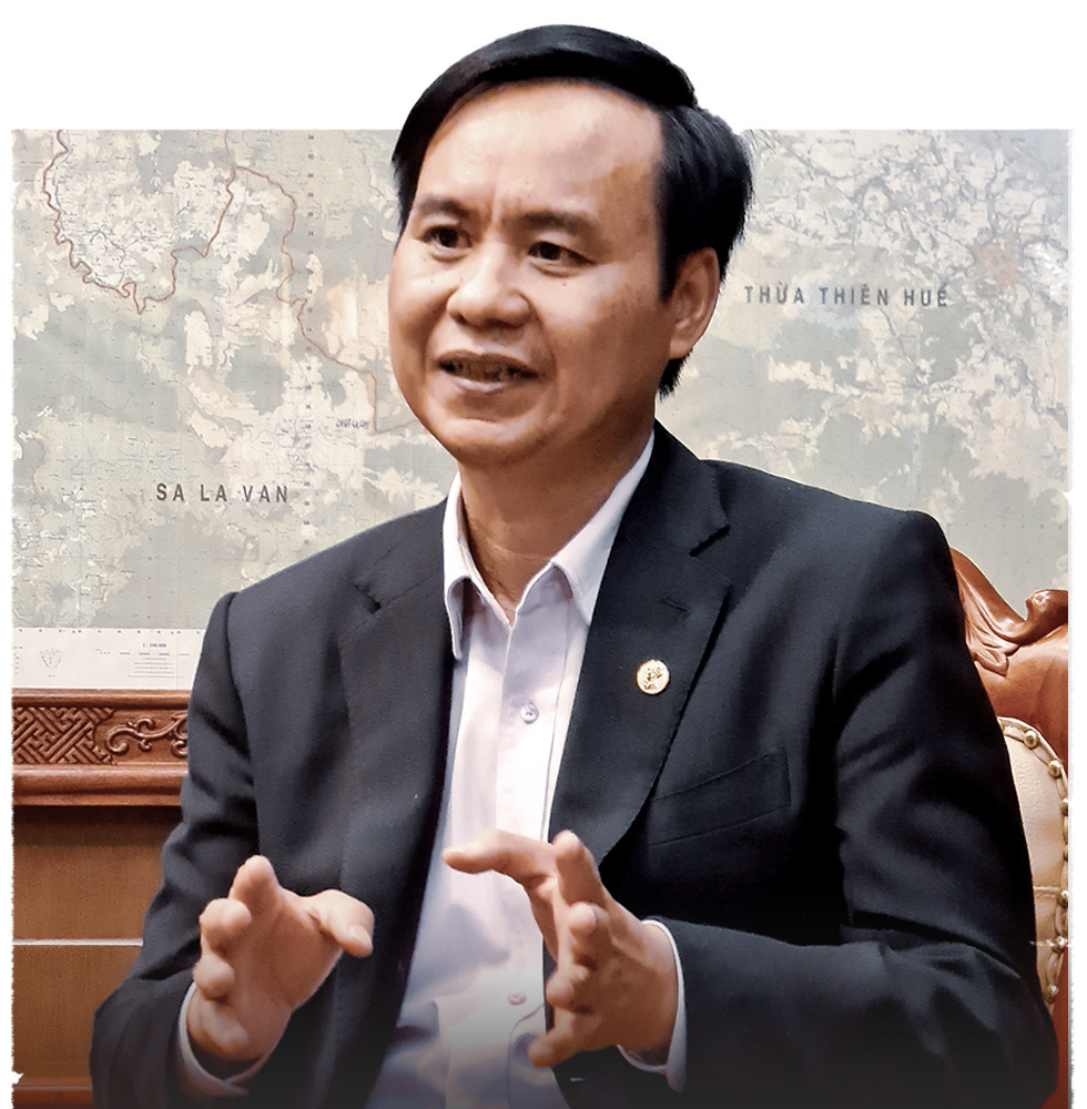 Vo Van Hung, head of Quang Tri Province's People Committee. Photo: Ngoc Hien / Tuoi Tre