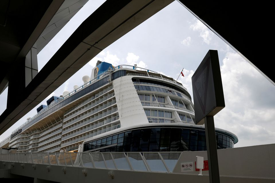 Two guests onboard a Royal Caribbean cruise test COVID-19 positive