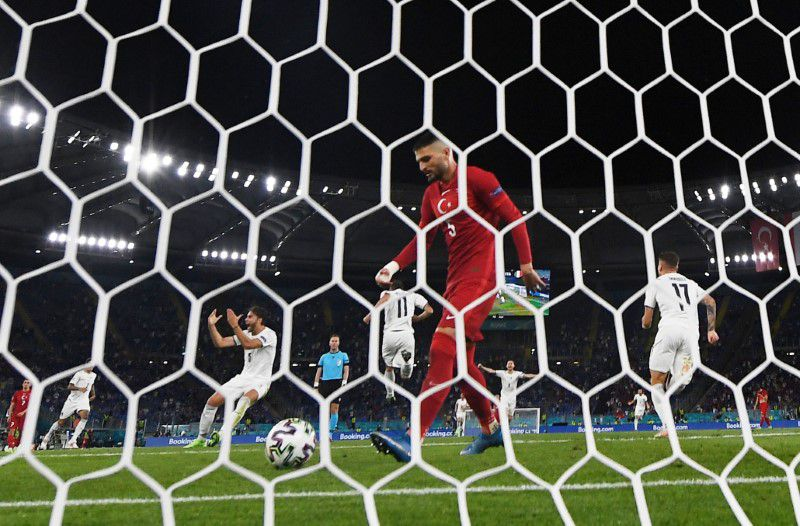 Soccer-Italy put on a show with win over Turkey in Euro 2020 opener