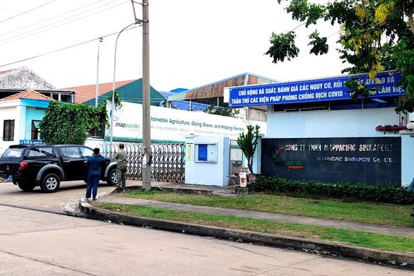 Singapore firm in Vietnam shuttered over suspected coronavirus infection