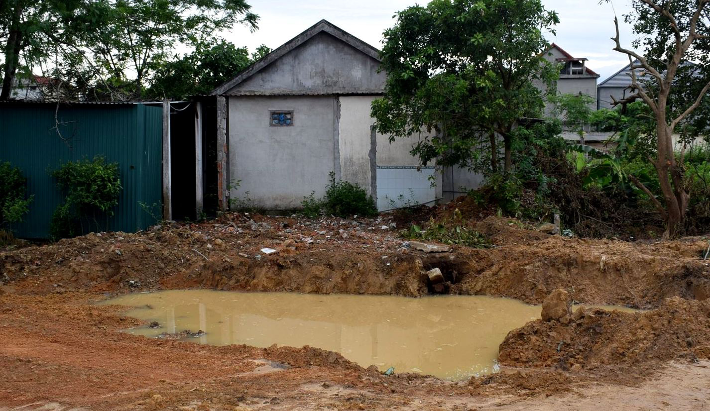 6-year-old boy drowns in construction site's water pit in Vietnam
