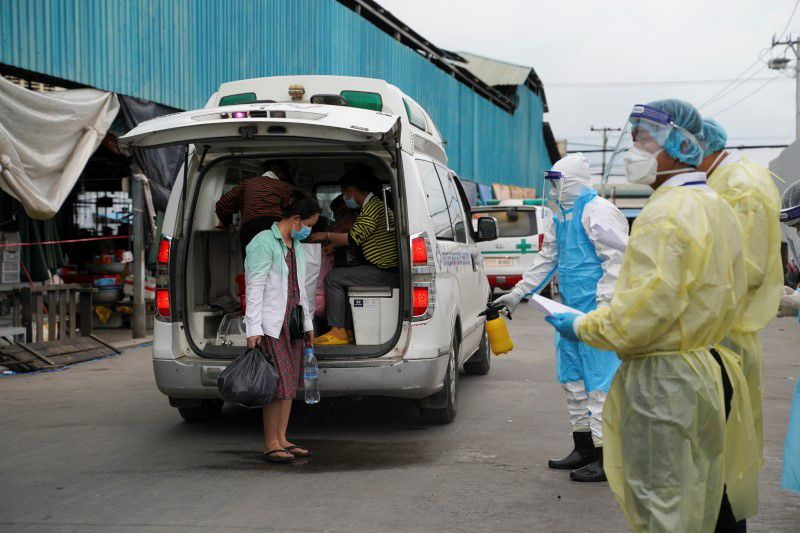 Cambodia reports 20 deaths from COVID-19, record for single day