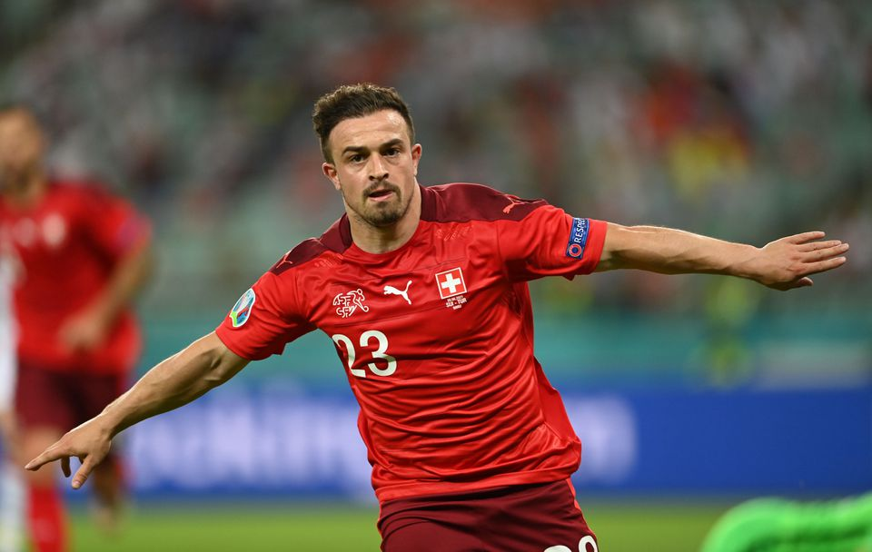 Shaqiri shines as Swiss beat Turkey to keep Euro 2020 hopes alive