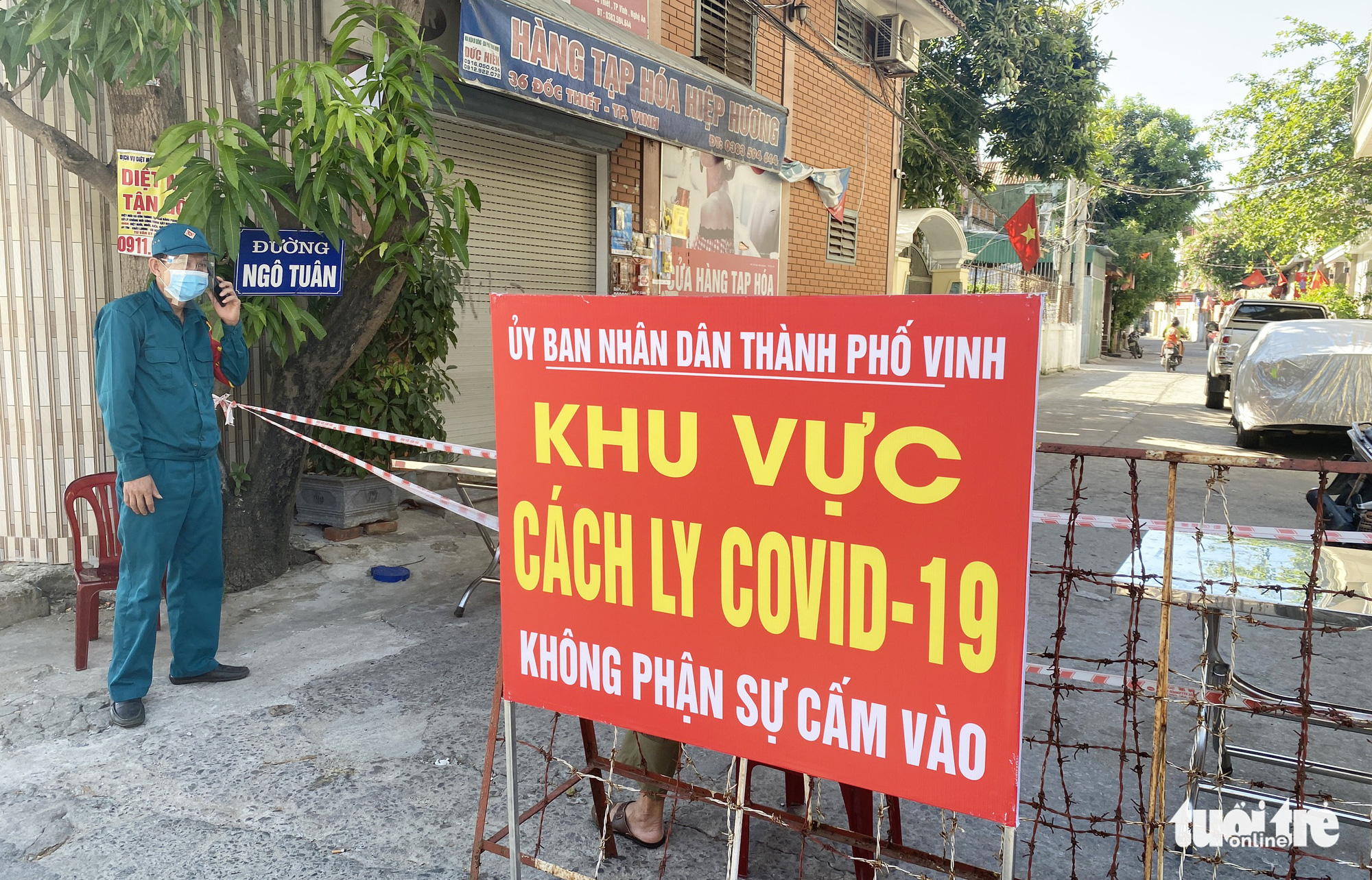North-central Vietnamese province records four new COVID-19 cases