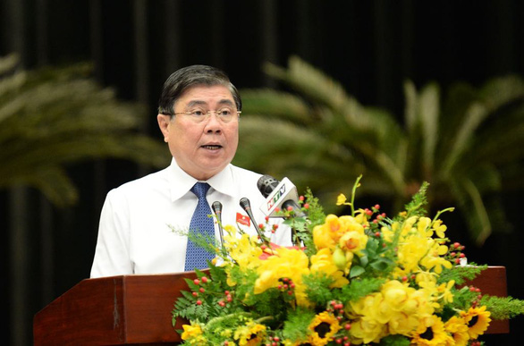 Nguyen Thanh Phong presents action plan after being re-elected as Ho Chi Minh City chairman