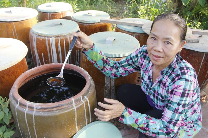 The art of making fish sauce is alive and well in Vietnam's Mekong Delta