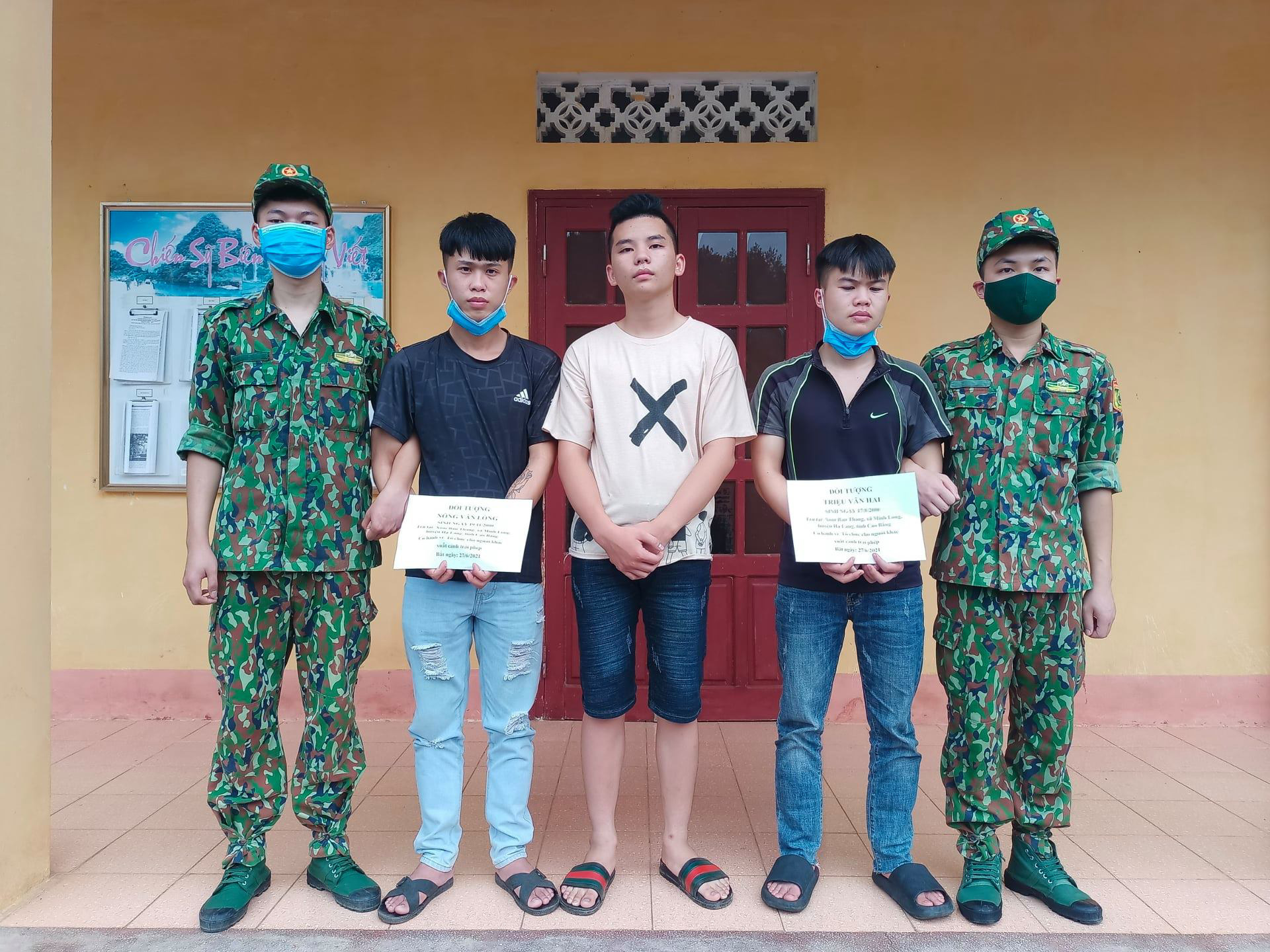 Three Vietnamese arrested for illegally taking compatriots to China