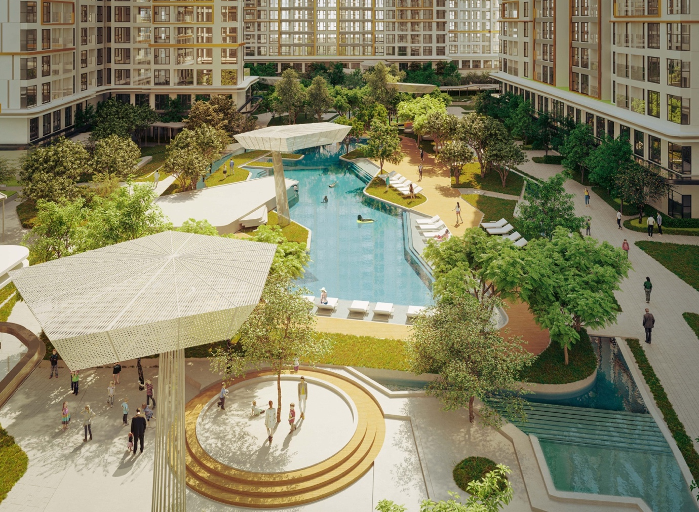 Masteri Centre Point, a high-end haven in Thu Duc City, Ho Chi Minh City