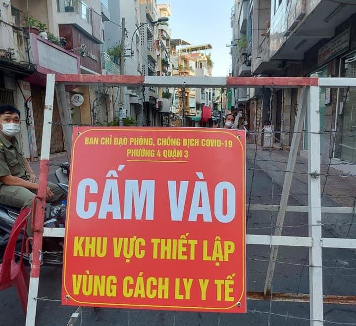 Ho Chi Minh City locks down two streets over 37 coronavirus infections