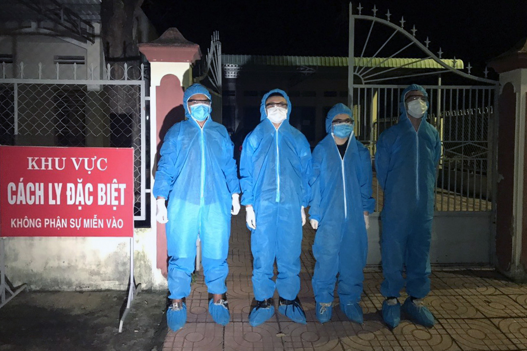 Four Chinese arrested in southern Vietnamese province for making illegal entry