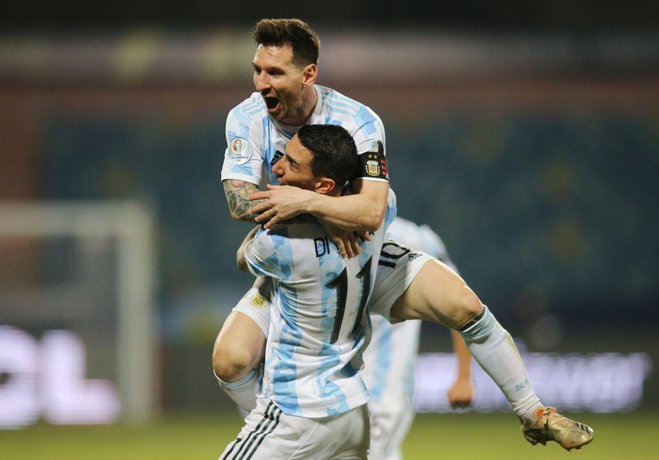 Argentina beat Ecuador 3-0 to move into Copa America semi