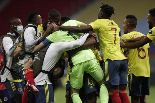 Soccer-Colombia head to Copa semis after penalties win over Uruguay