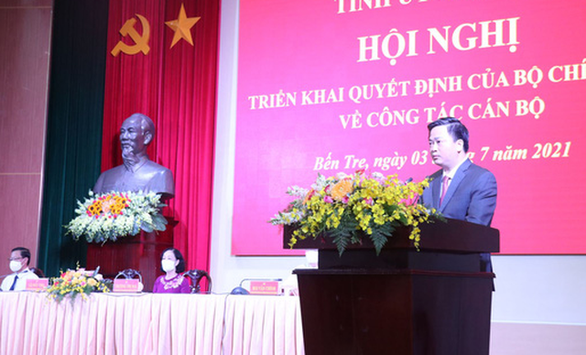 State-run bank chairman appointed Party chief of Vietnam's southern province
