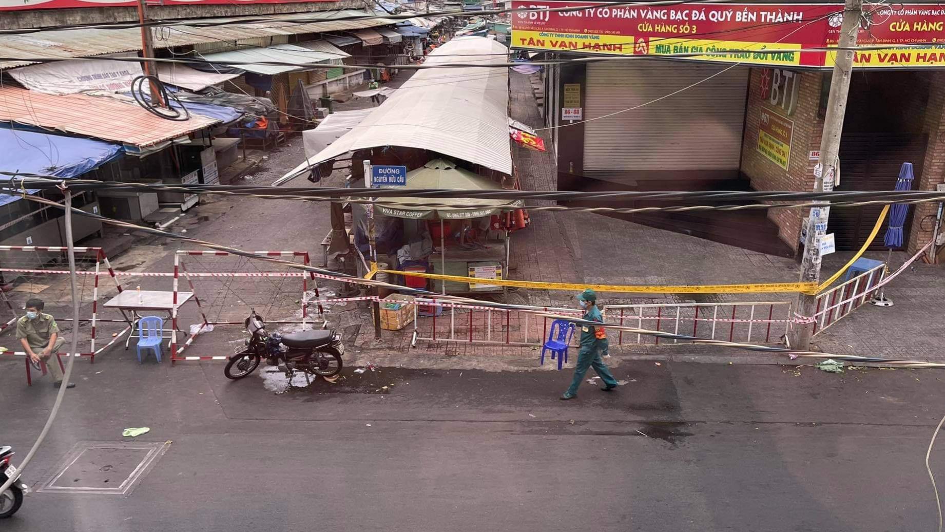 Ho Chi Minh City closes central market over new coronavirus infection