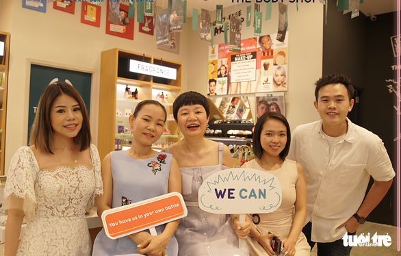 Members participating in an event of the We shine initiative launched by We Can in a supplied photo.