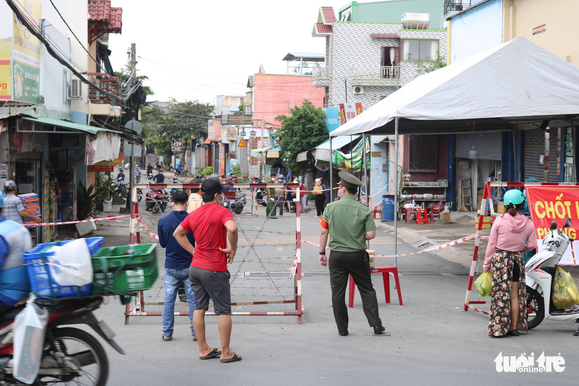 Ho Chi Minh City to fine residents for going outside without proper reasons