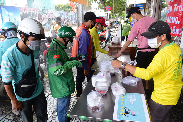 Why did Ho Chi Minh City suspend food and drink takeout services?