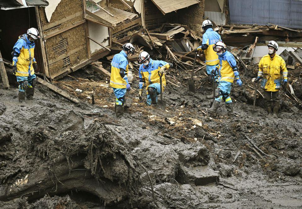 Heavy rain hits southern Japan, over 120,000 ordered to evacuate - NHK