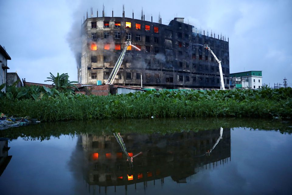 Fire at Bangladesh factory kills 52 workers, police open probe