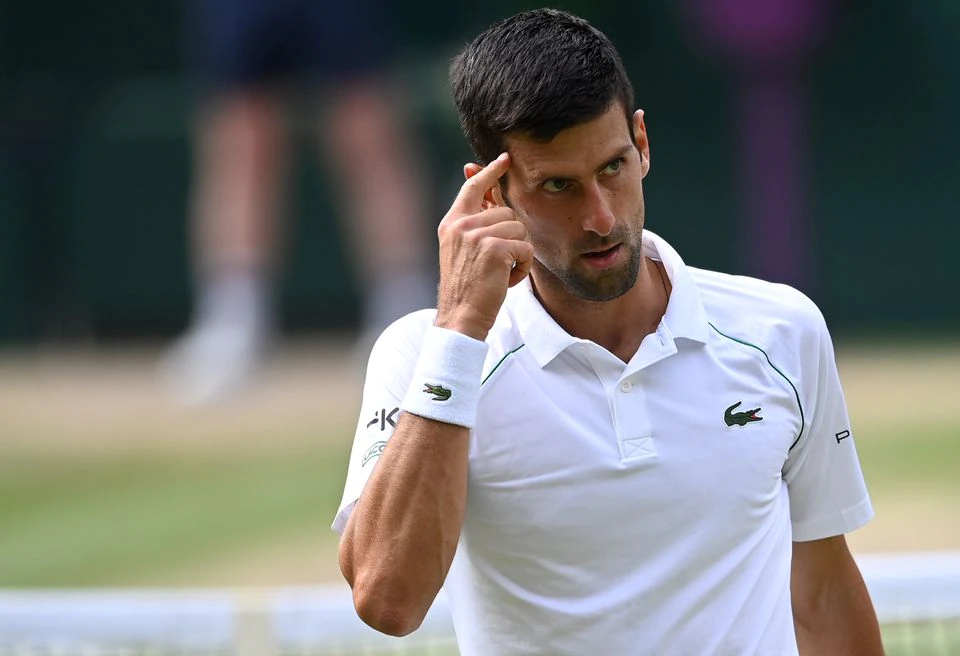 I believe I'm the best, says Djokovic after matching Federer and Nadal
