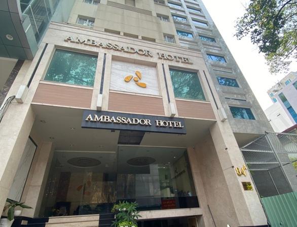 Ambassador Hotel in District 1 of Ho Chi Minh City. Photo: Tien Vu / Tuoi Tre.