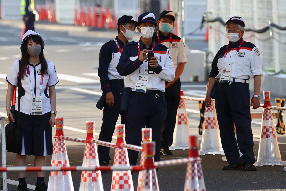 Athlete COVID-19 infections rise in Tokyo