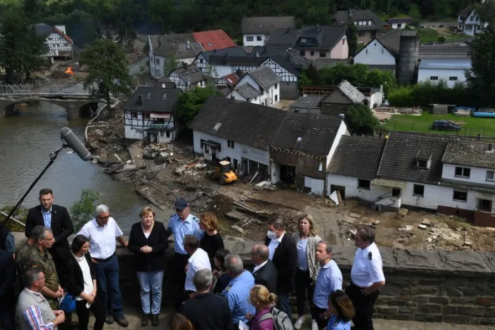 'It's terrifying': Merkel shaken as flood deaths rise to 188 in Europe