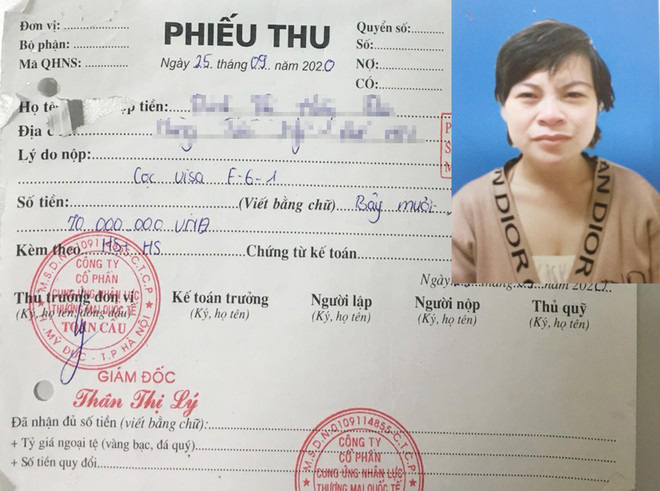 Woman indicted for appropriating money from 140 Vietnamese in labor export scam