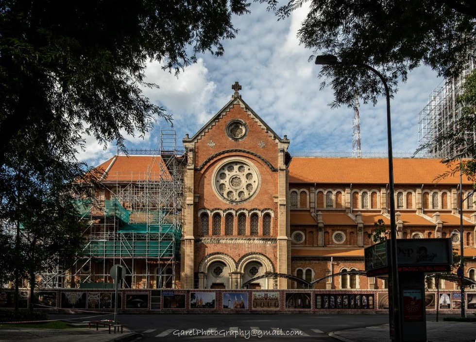 The Notre Dame Cathedral in District 1, Ho Chi Minh City. Photo: Alexandre Garel