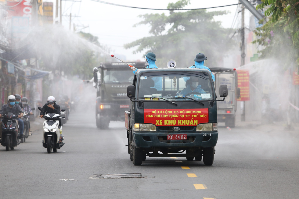 Ho Chi Minh City starts week-long disinfection amid rising COVID-19 cases