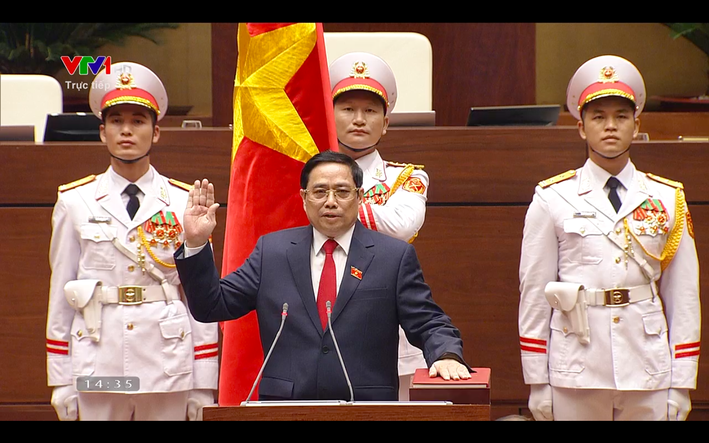 Pham Minh Chinh re-elected as Vietnamese prime minister for 2021-26