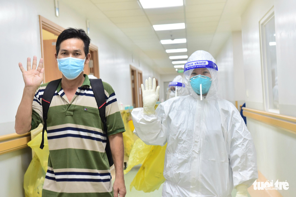 Briton among 17 severe COVID-19 patients sent home following recuperation in Saigon