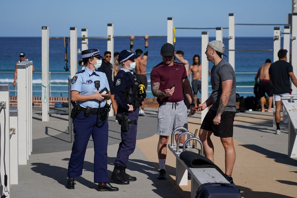 Sydney adds four weeks to lockdown as Australia COVID-19 cases spike