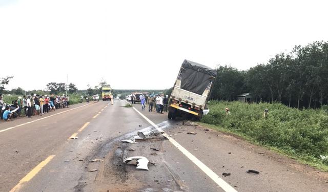 Three die in head-on collision in Vietnam's Central Highlands