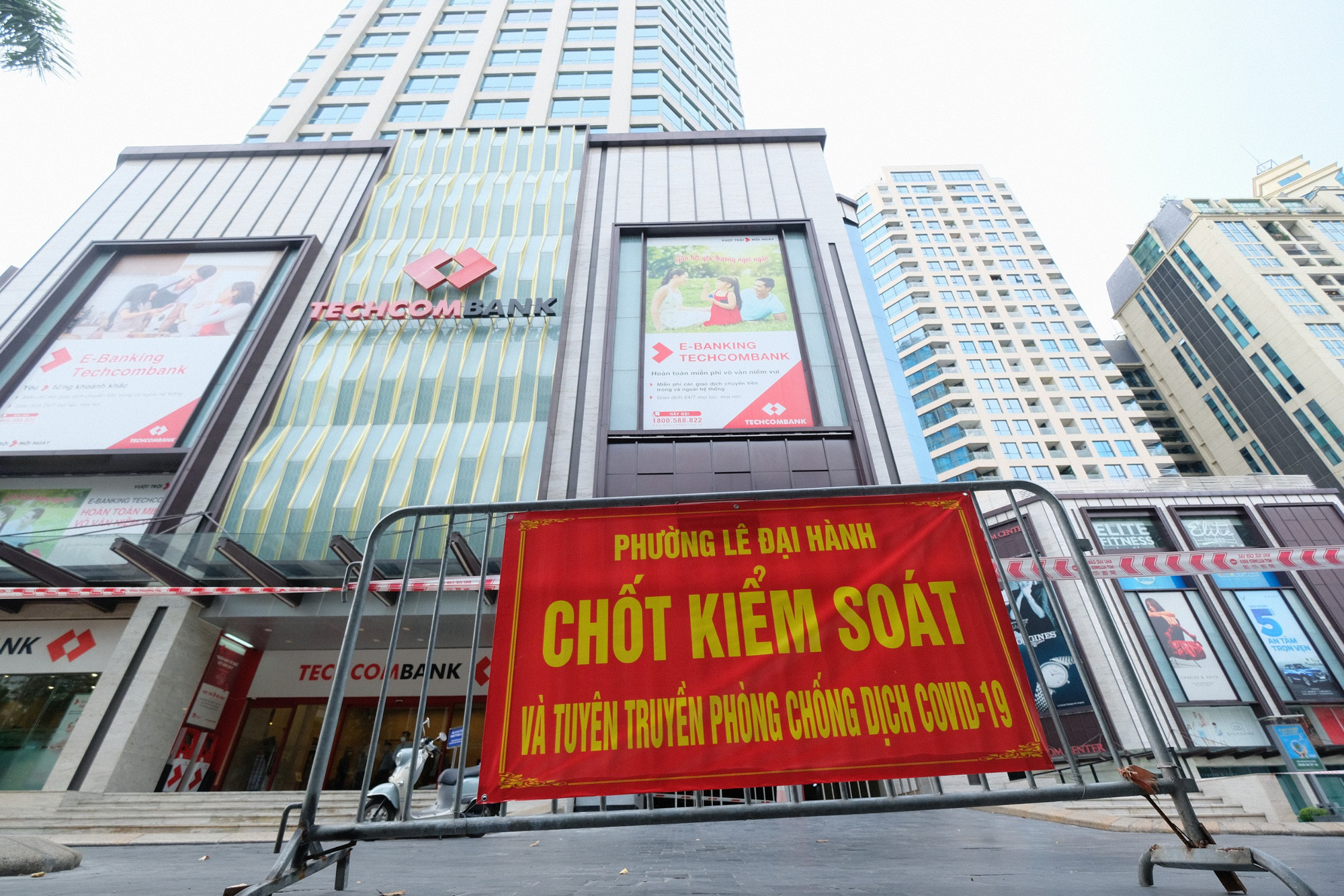 Hanoi locks down busy downtown shopping tower over suspected coronavirus infection