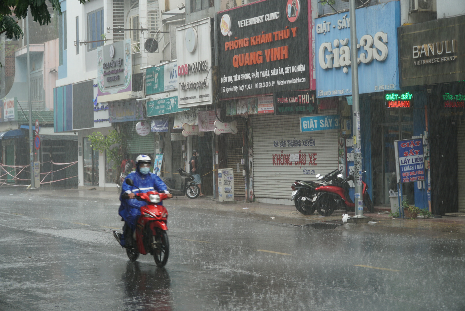 Rains, thunderstorms to lash southern Vietnam over weekend