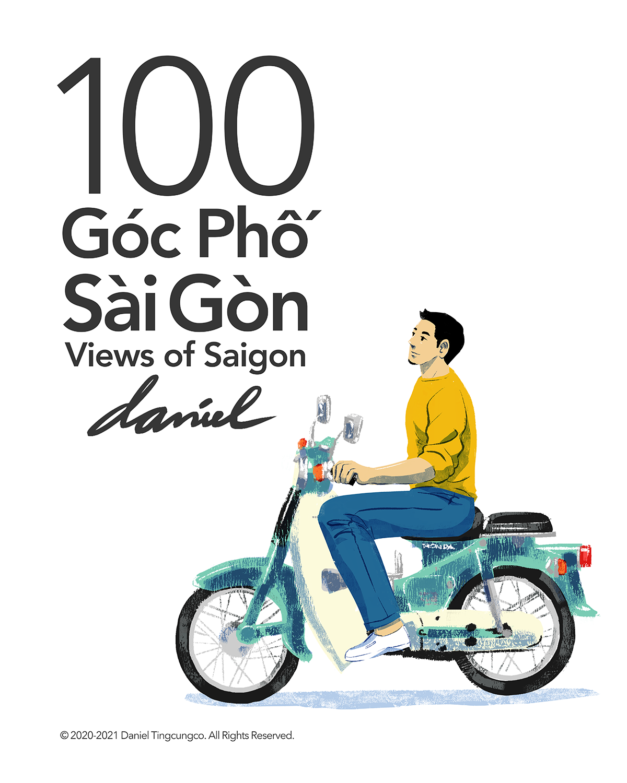 An artwork promoting 100 Views of Saigon by Daniel Ansel Tingcungco