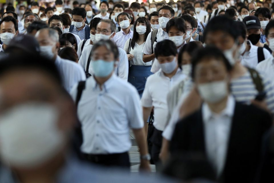 Japan limits hospitalisation of COVID-19 patients to most serious as cases surge