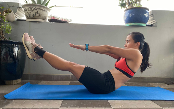 Staying fit during COVID-19 restrictions in Vietnam
