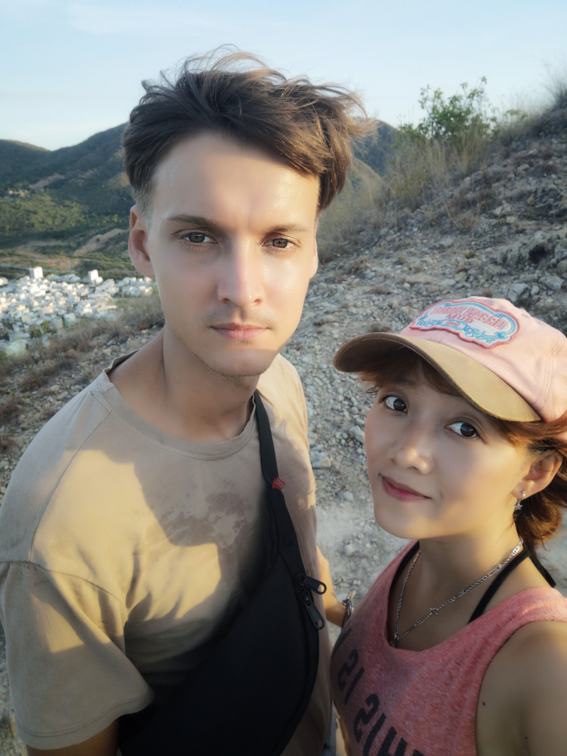 Russian Mikhail Morozov and his Vietnamese wife Thuy are seen in a photo the couple provided Tuoi Tre News