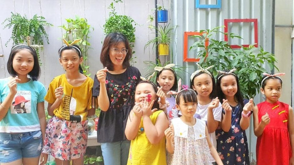 Ho Chi Minh City teacher's special passion for fabric scraps
