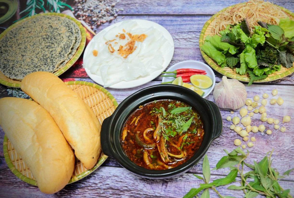 Braised eel prepared in Vietnam's Nghe An Province style. Photo: Tieu Tung / Tuoi Tre