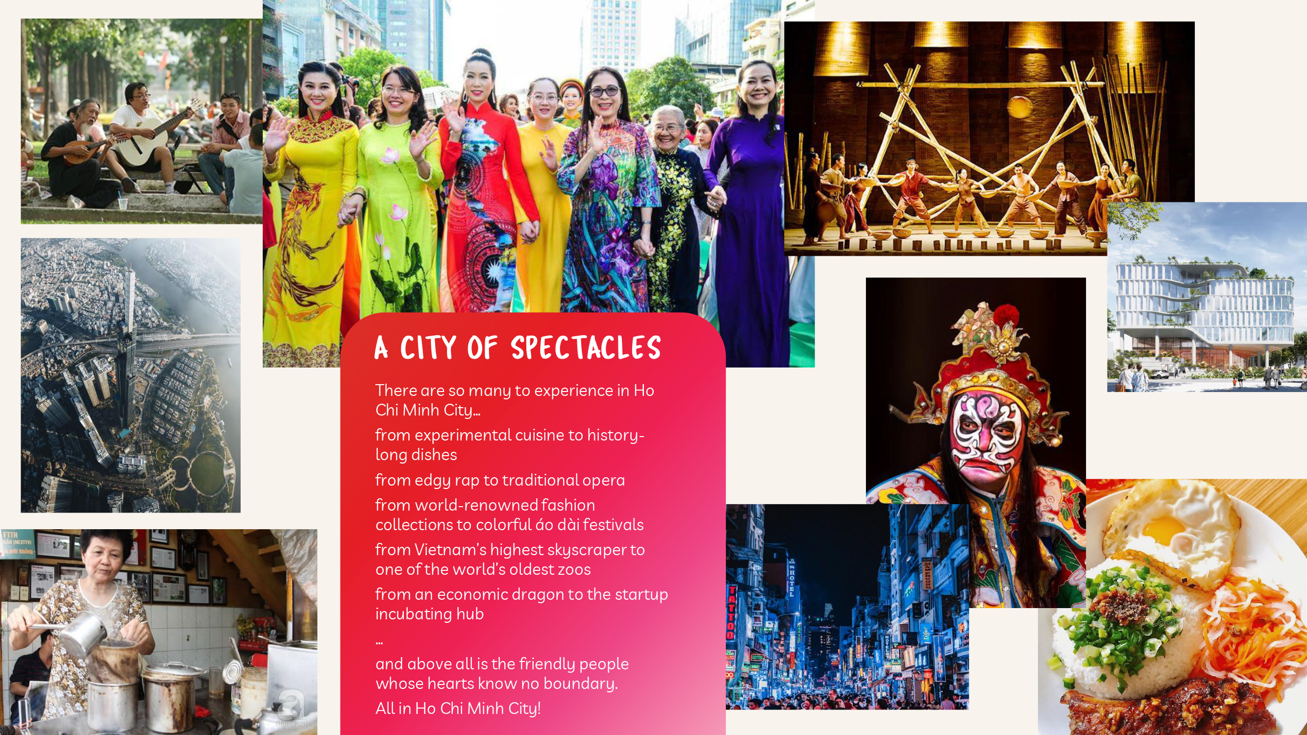 Ho Chi Minh City Goes Global: A city of spectacles