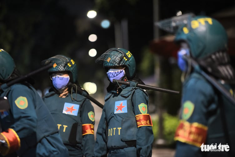 Military troops deployed to assist in Ho Chi Minh City's fight against COVID-19