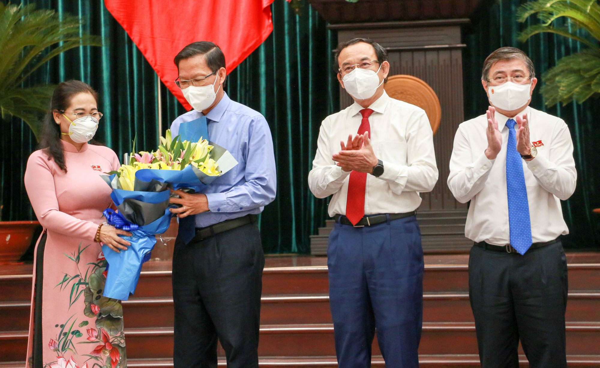 Ho Chi Minh City's new chairman pledges to focus on pandemic control